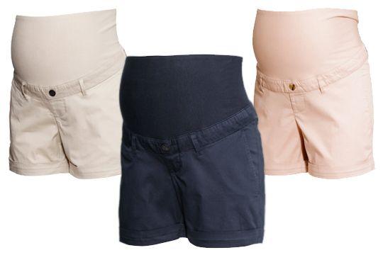 Umstandsmode Sommer 2015: Chino-Shorts   Schwangerschaftskleidung ...