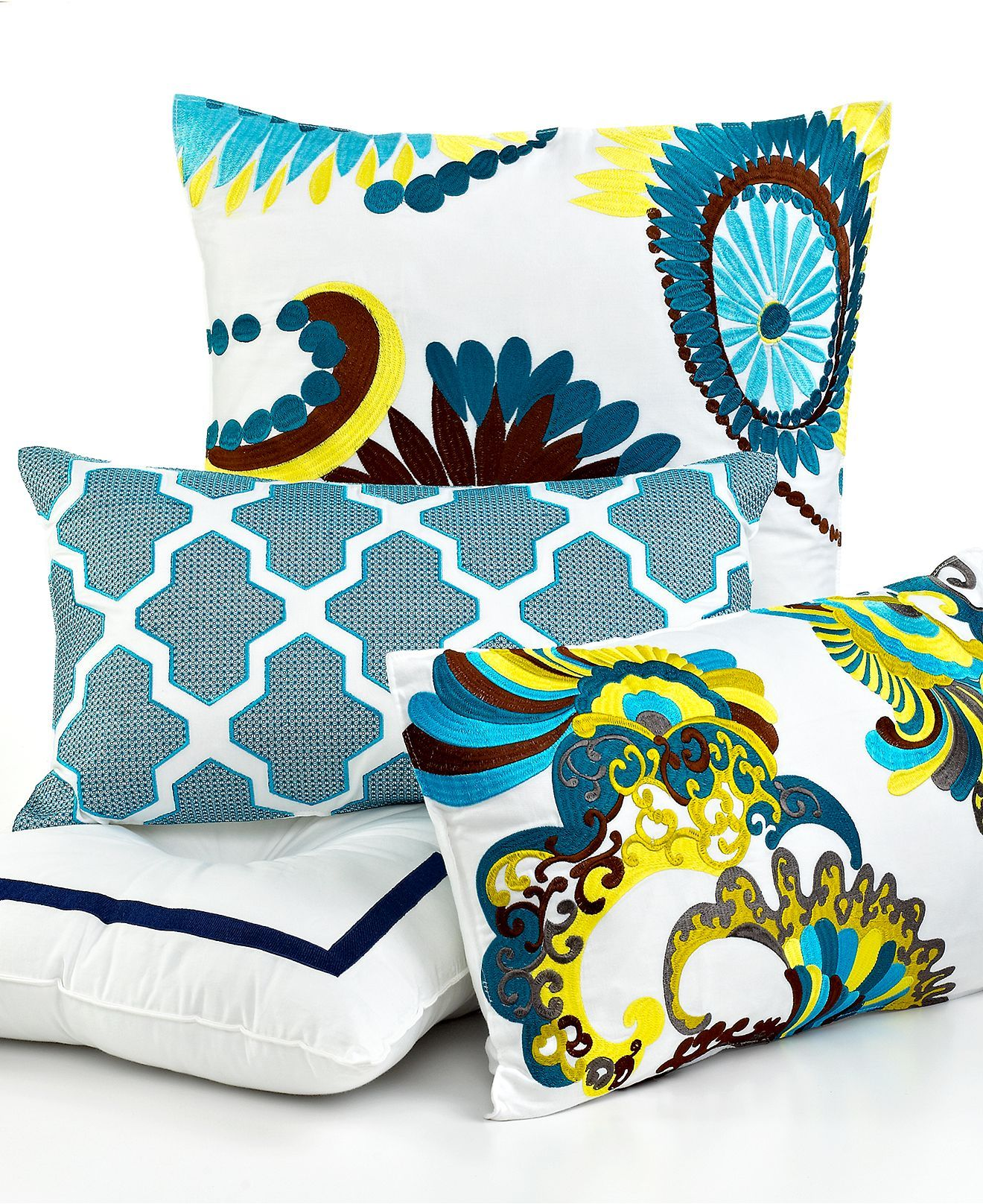 Macy's Decorative Pillows New Trina Turk Bedding Stones Decorative Pillows  Apartment Bedding Design Ideas