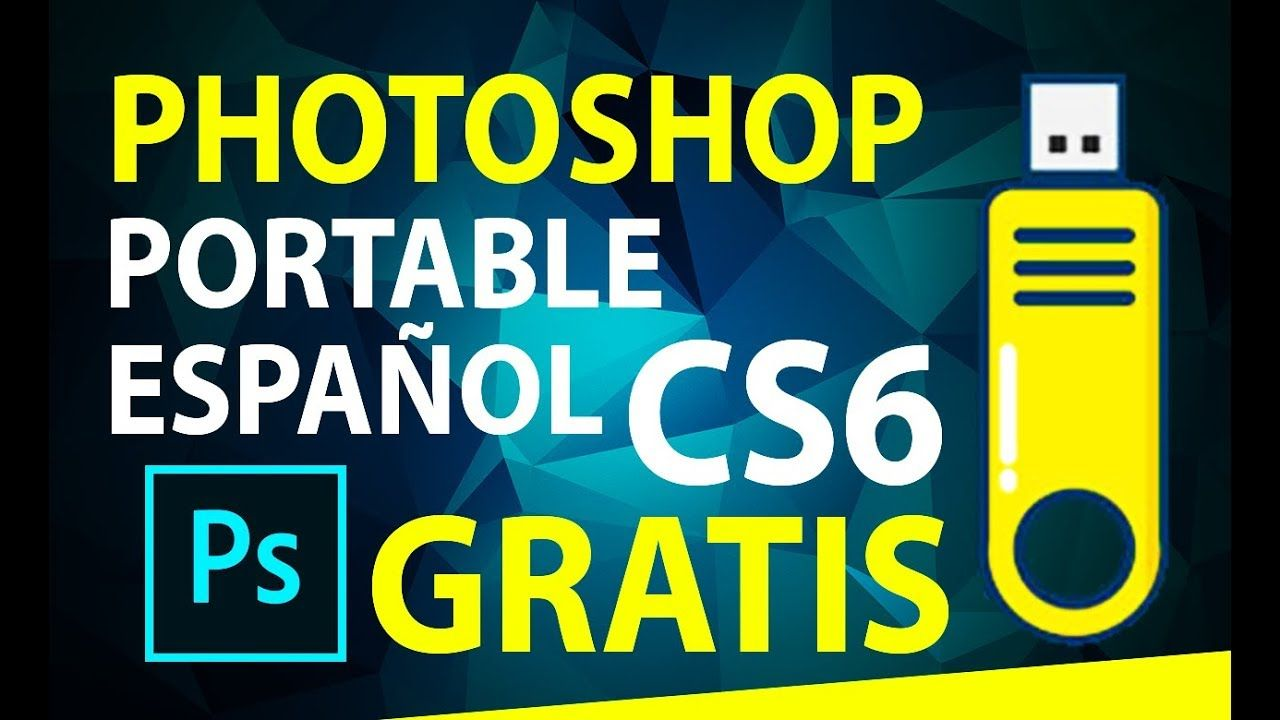 descargar photoshop portable gratis en español