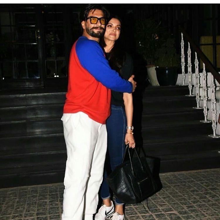 Watch Ranveer Singh And Deepika Padukone End Their Date With A Kiss And We Can T Stop Gushing Hungryboo Deepika Padukone Deepika Padukone Latest Ranveer Singh