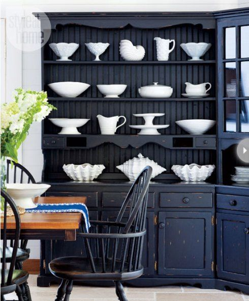 Nautical Dining Room Color Idea For The Desk Hutch Im