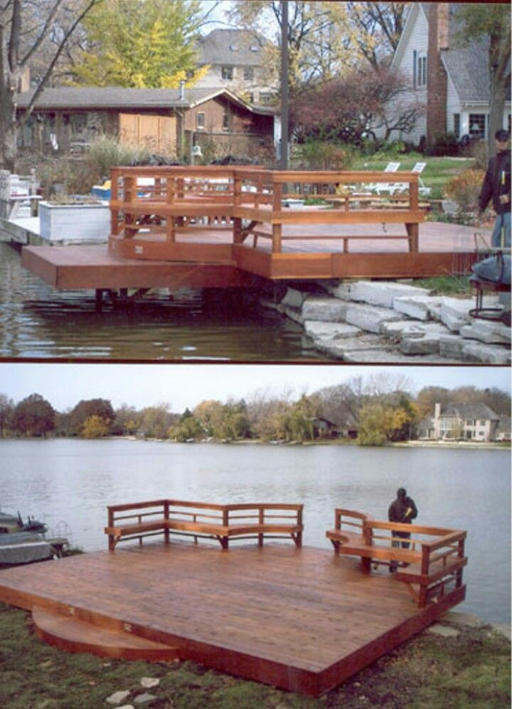 Pin by Hepsiva Luna on House in 2018 Pinterest Deck, Pond and