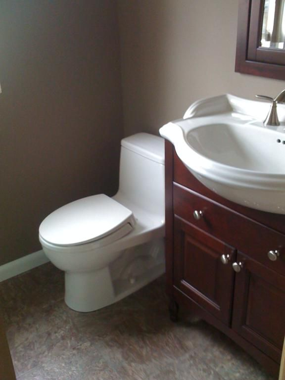 Small Bathroom With A Narrow Depth Vanity Idea Narrow Depth Fascinating Narrow Depth Bathroom Vanity Review