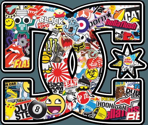 Pegatinas: DC Sticker Bomb 2