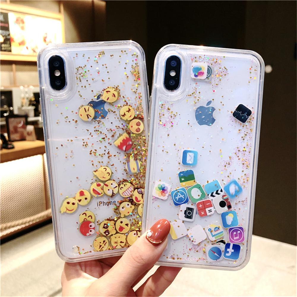 iPhone 6/7/8 Plus X XR XS MAX Quicksand