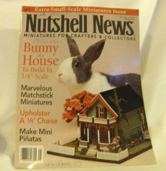 Nutshell News May 1997 by ConnieJoe on Etsy, $2.99