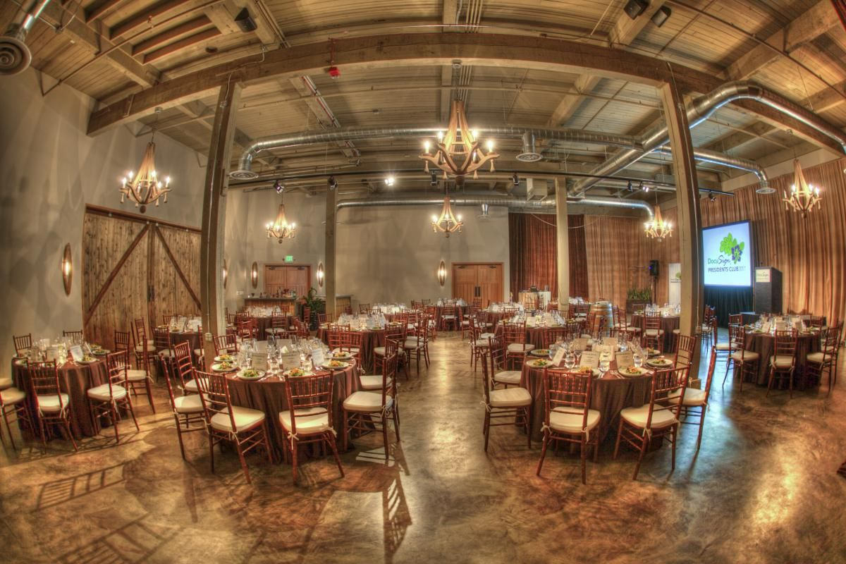 Dining in the concrete room rather than ceremony