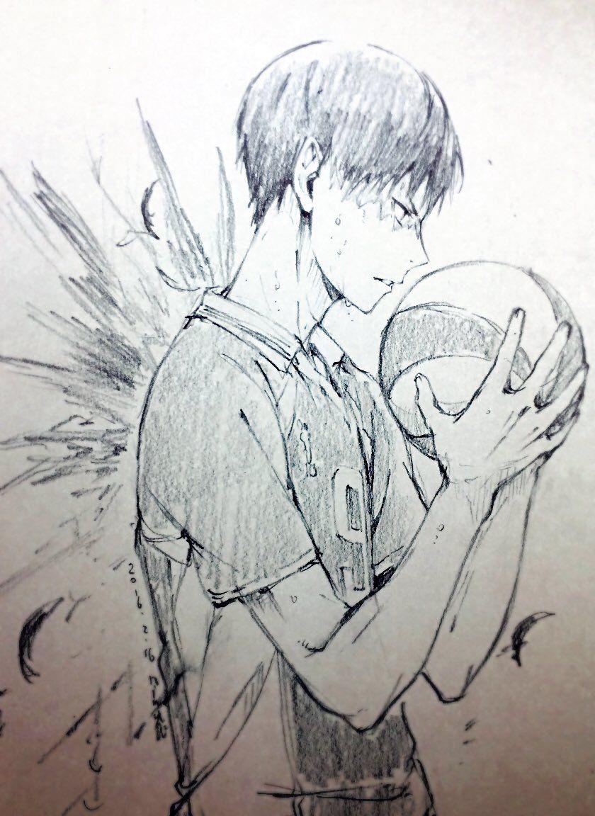 The Ink Task Haikyuu Anime Anime Sketch Haikyuu Fanart