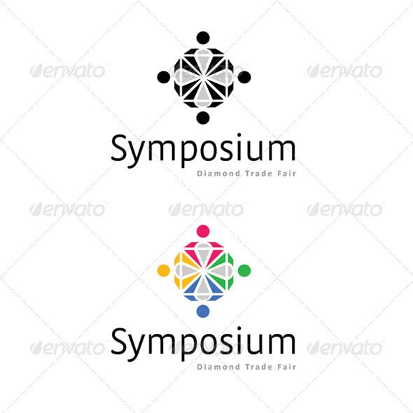 symposium logos fonts and colors