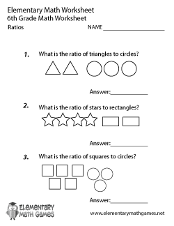 Sixth Grade Math Worksheets 6th grade worksheets