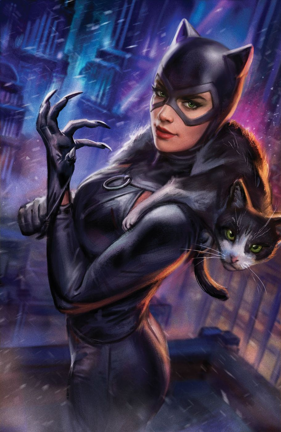 Catwoman by Iain MacDonald #comicbooks