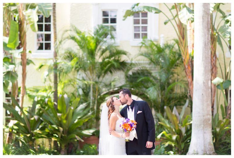 Laurie Stan Brazilian Court Hotel Royal Poinciana Chapel Lake Worth Wedding