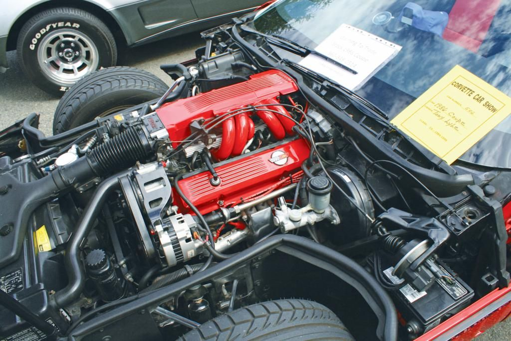 1991 corvette engine dress up kit | C4 Corvette Engine Bay