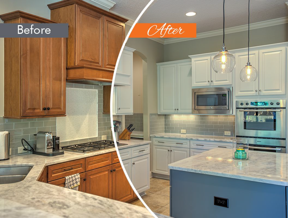Pictures Do Not Do This Project Justice From Dull To Bright In A Matter Of Days Refacing Kitchen Cabinets Kitchen Design Painting Kitchen Cabinets