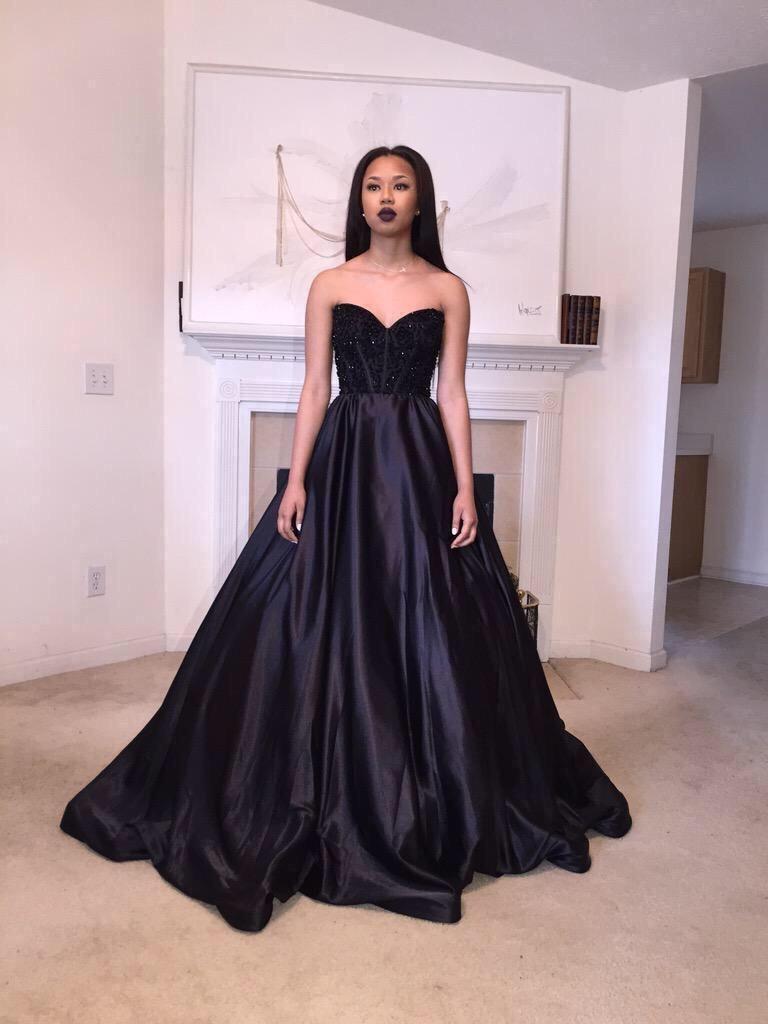 Pd06231 Charming Prom Dress,Satin Prom Dress,A-Line Prom Dress ...