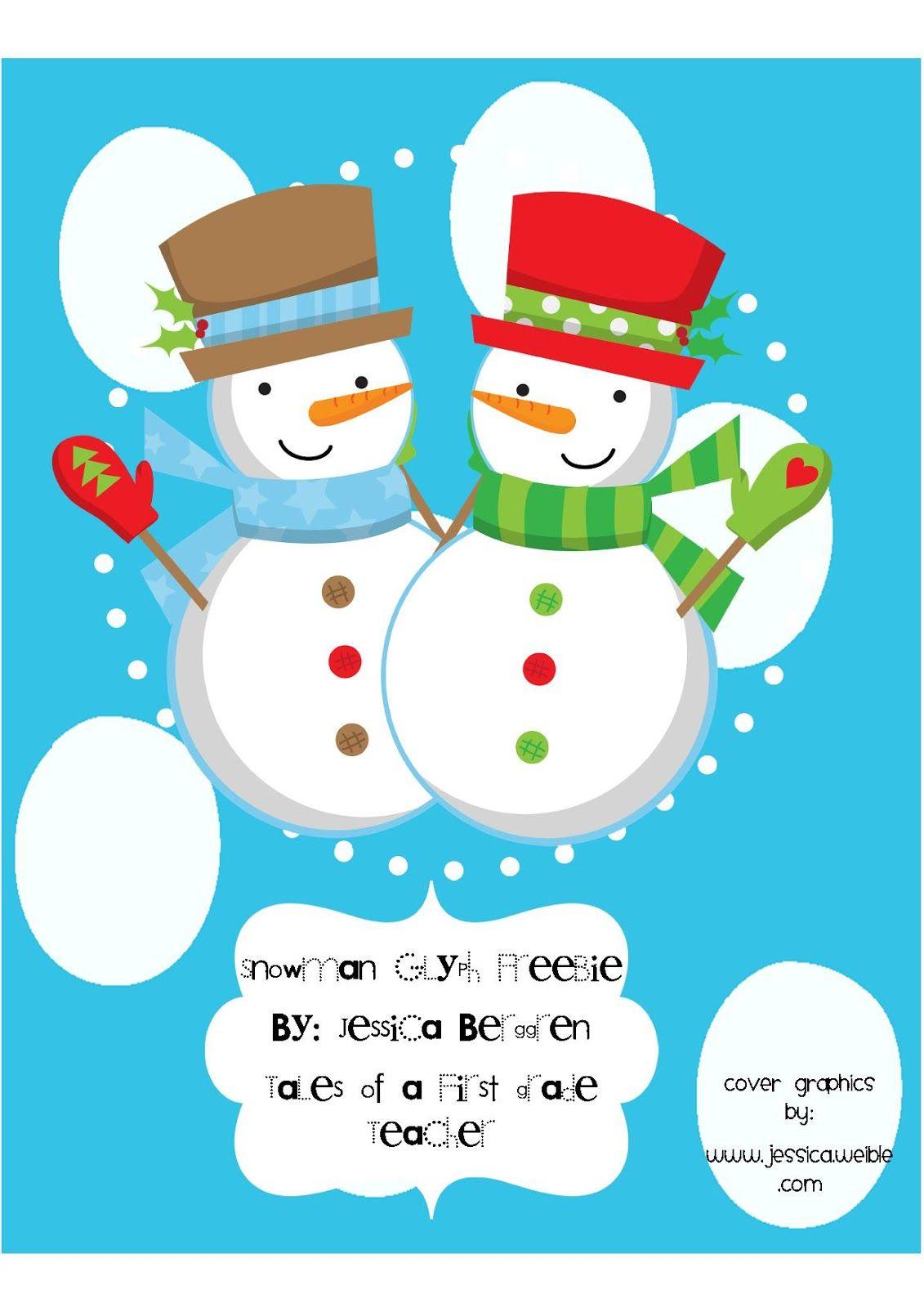 Snowman Glyph Freebie