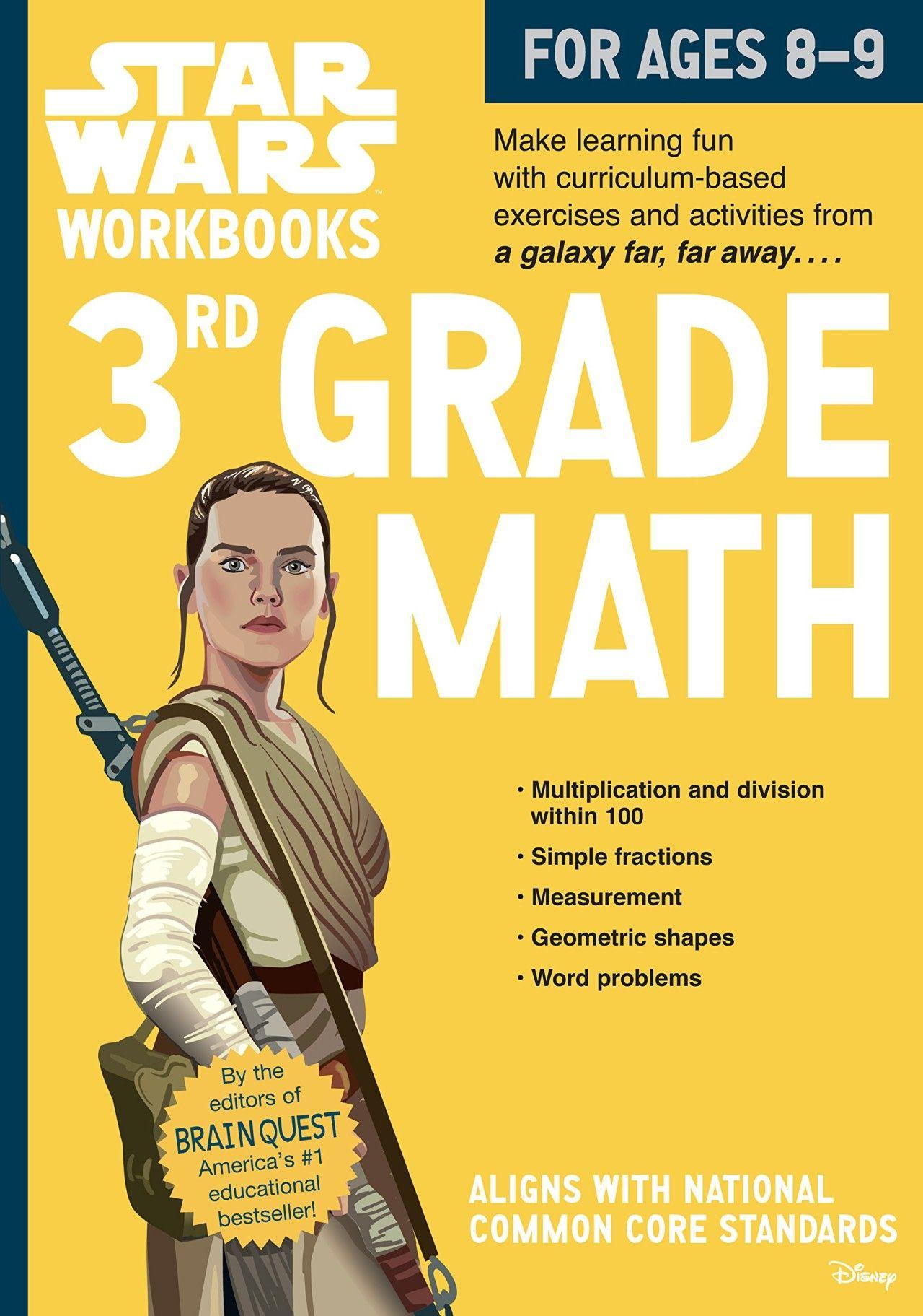 Star Wars Math Workbooks As Low As 4 49