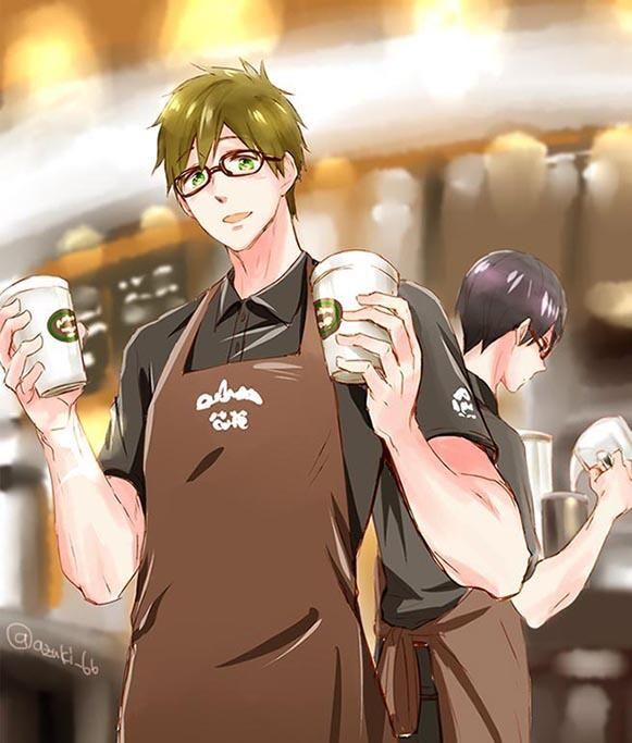Coffee Shop Boys Makoto And Harkua I Dont