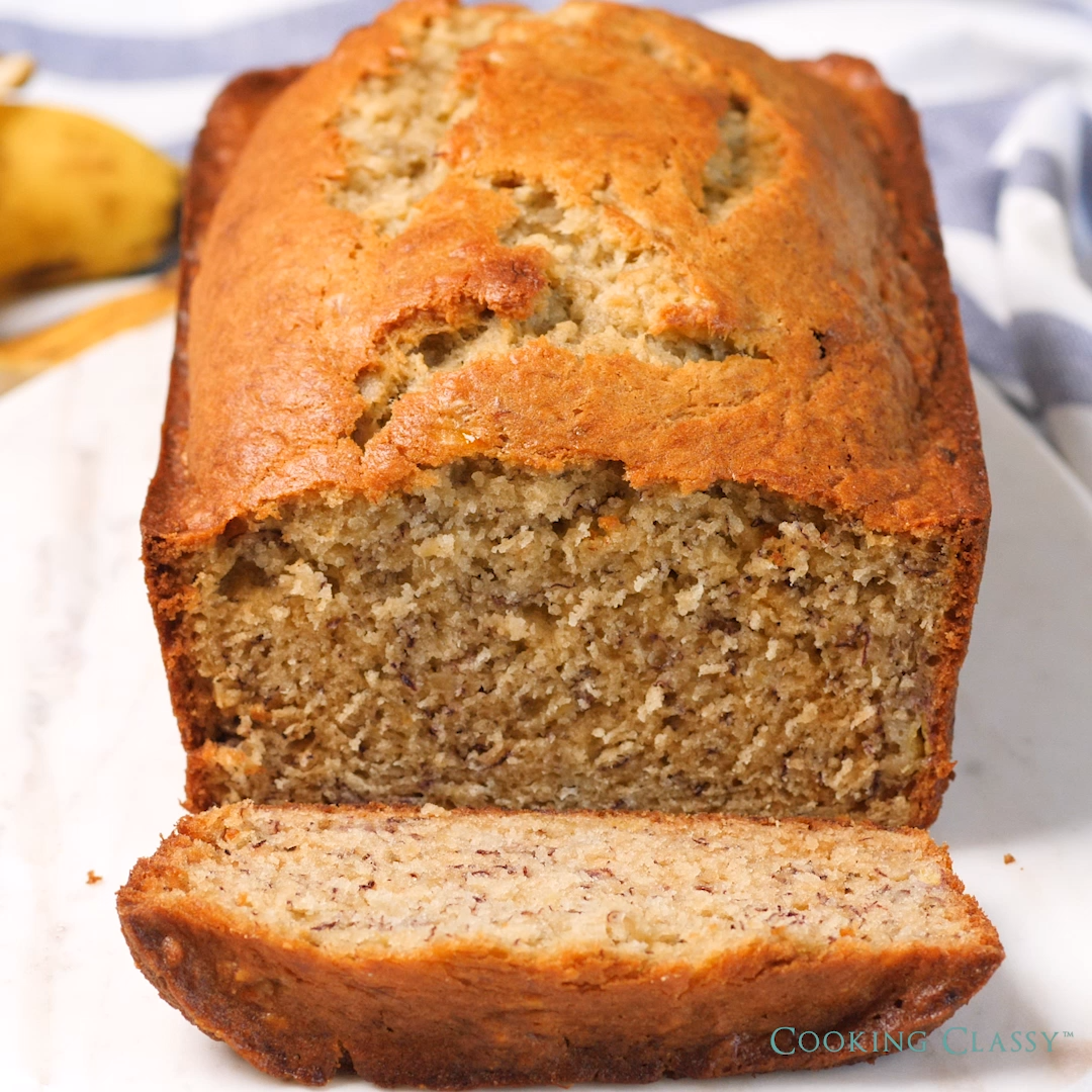 BEST EVER BANANA BREAD #fooddiy