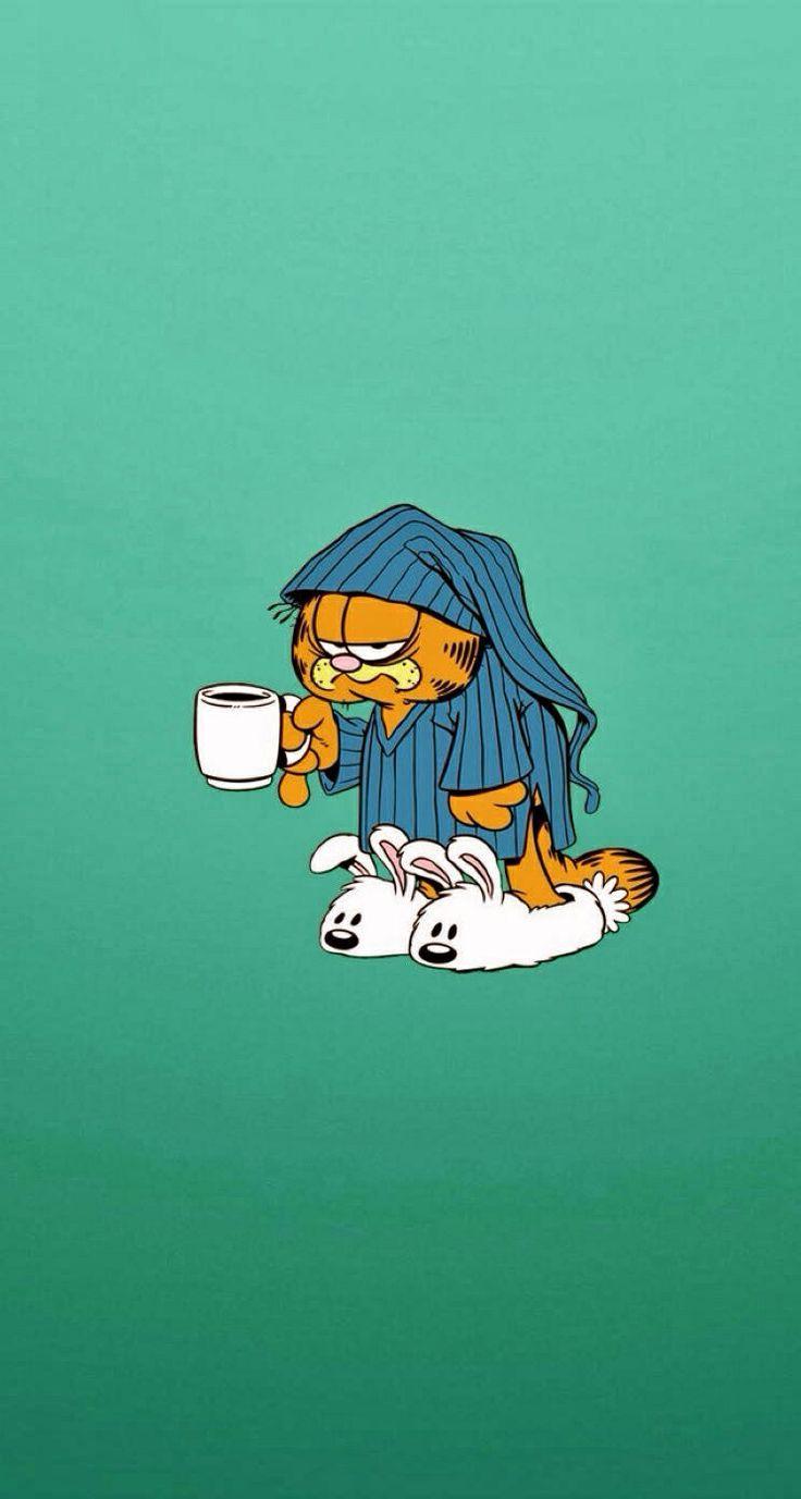 Iphone Wallpaper Garfield Mypin In 2020 Cartoon Wallpaper Hd Cartoon Wallpaper Iphone Cartoon Wallpaper