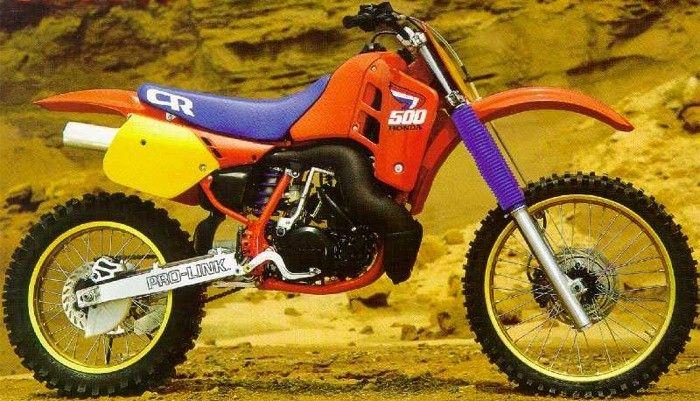 Greatest Motocross Bike Ever Built The 87 Cr 500 Retro Bike Honda Dirt Bike Racing Bikes