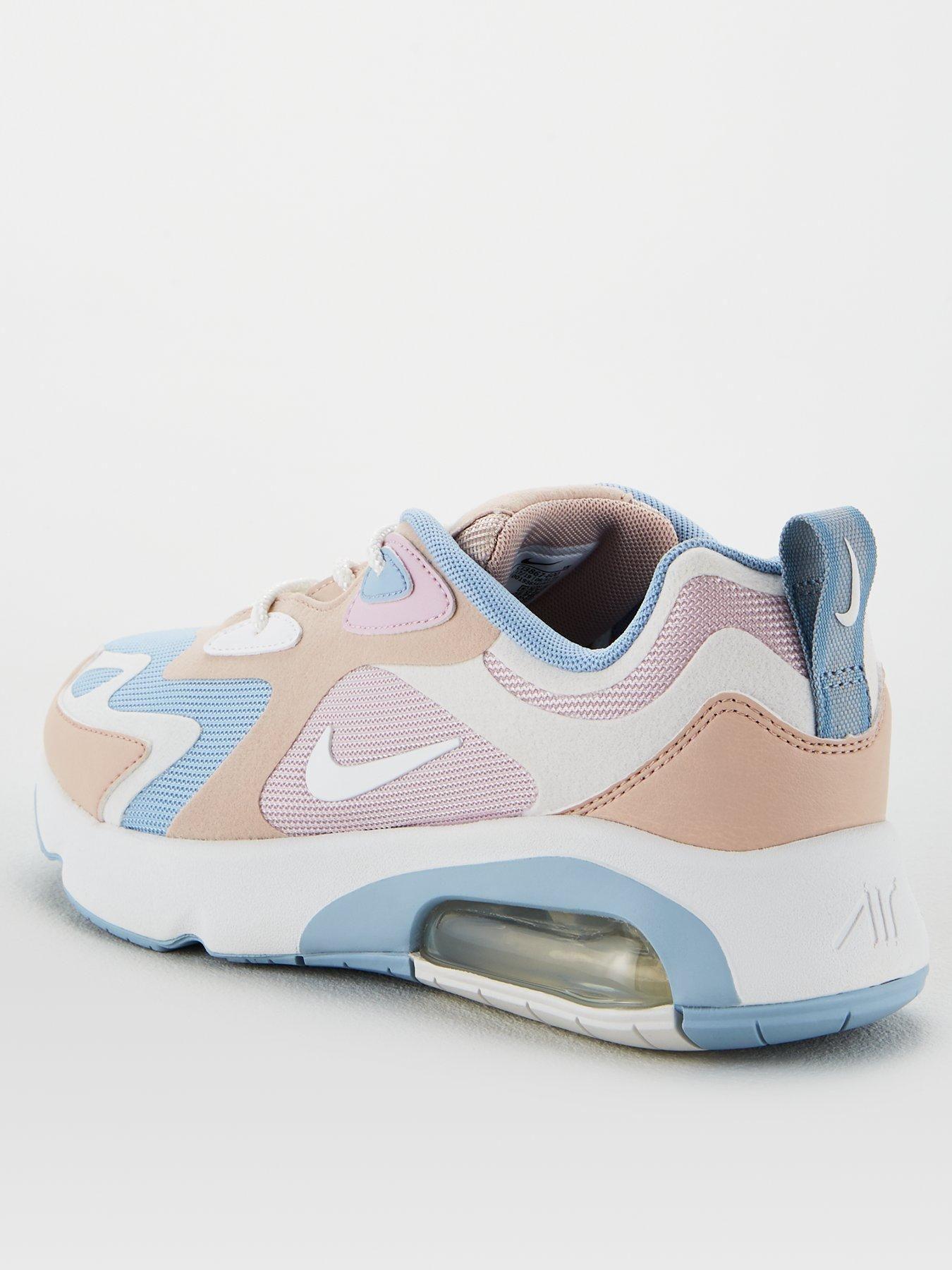 Air Max 200 Pink/White/Blue in 2020 Nike air, Air max