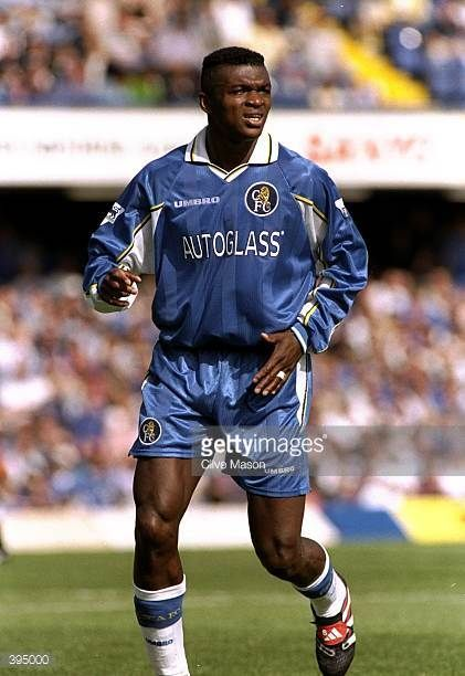 Marcel Desailly Of Chelsea In Action During The Fa Carling Premiership Game Against Newcastle United At Stamford Bridge London England The Game Ended