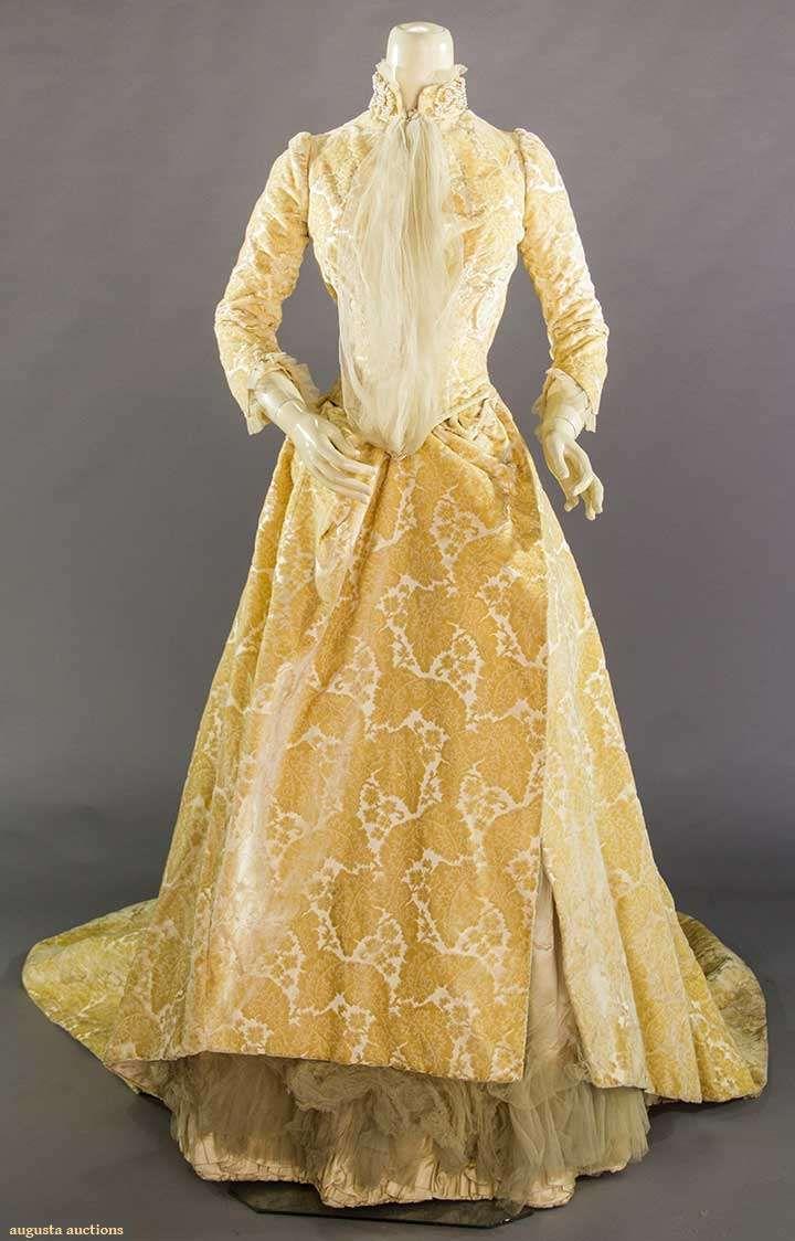 Wedding gown image a fanet france paris s satin