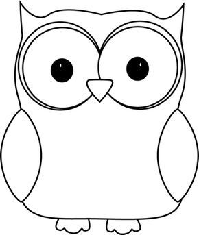 Images Of Owls Clipart Black And White Owl Clip Art Image White Owl With A Black Outline Owl Coloring Pages Owl Images Black And White Owl