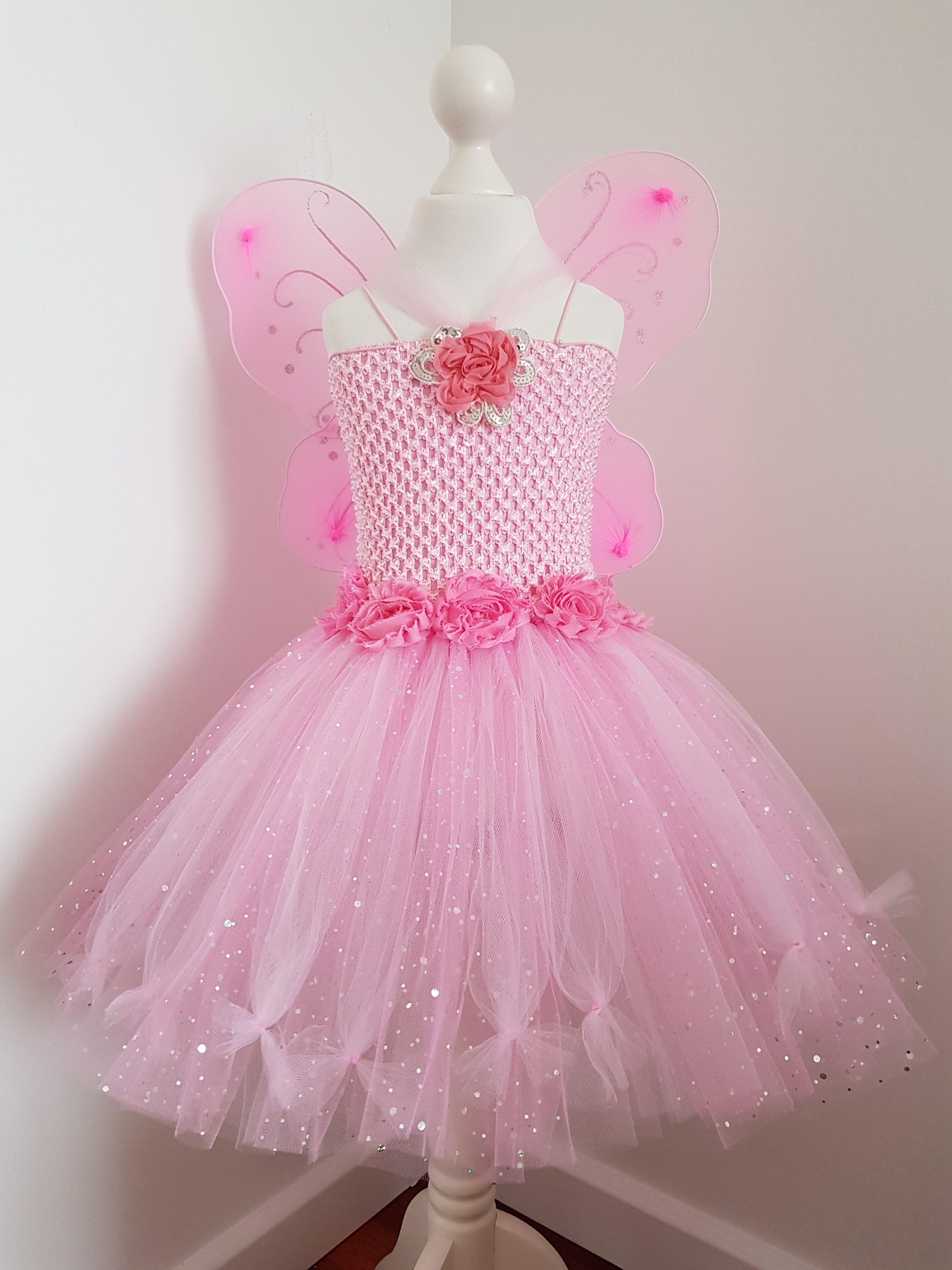 Fairy Tutu Dress 7 to 7 years old  Tutu dress, Dresses, Flower