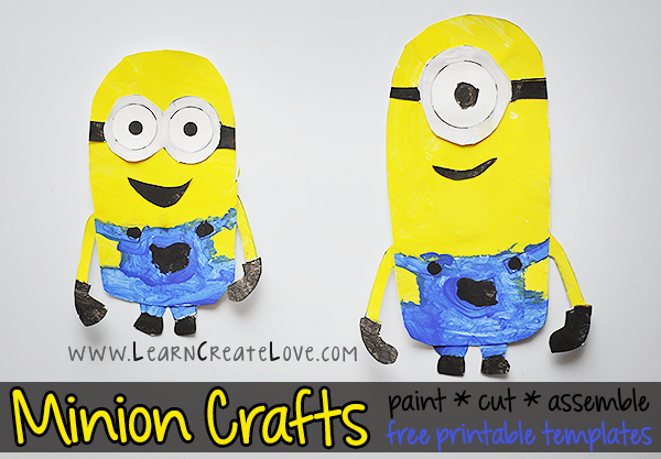 Do It Yourself Despicable Me Garland Minions Make Your Own Minions Bunting New