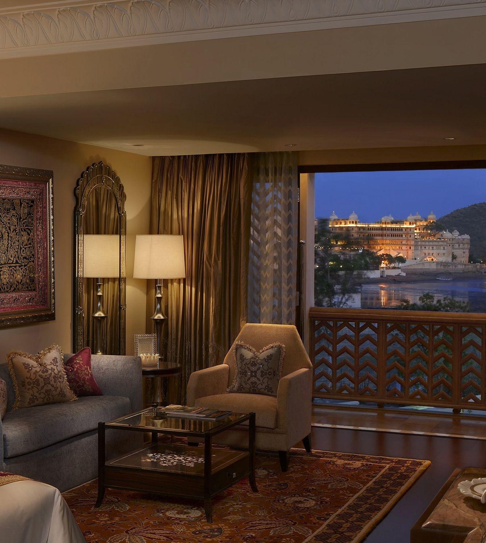 The Maharaja Suite at The Leela Palace Udaipur leela
