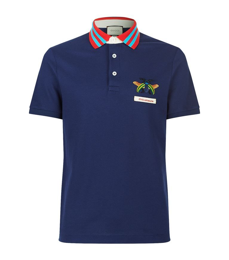 1c2c1cc67f8 GUCCI Animalium Polo Shirt.  gucci  cloth