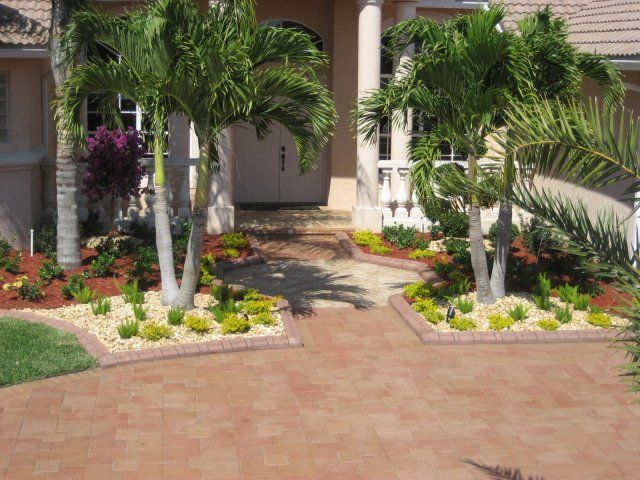 Florida Front Yard Landscaping Ideas Part - 48: South Florida Front Yard Landscapes