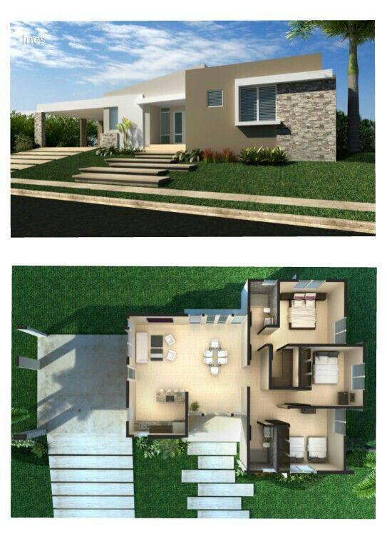 Modelo Ines Casas Fermax Puerto Rico House Styles Architecture House Plans