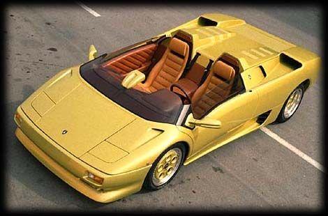 Lamborghini Diablo Roadster Concept C C A R S 5k Pins