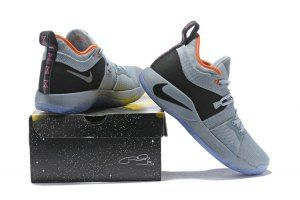 981a22ab249 Nike PG2 Pure Platinum Neo Turquoise Wolf Grey Aurora Green Men s  Basketball Shoes