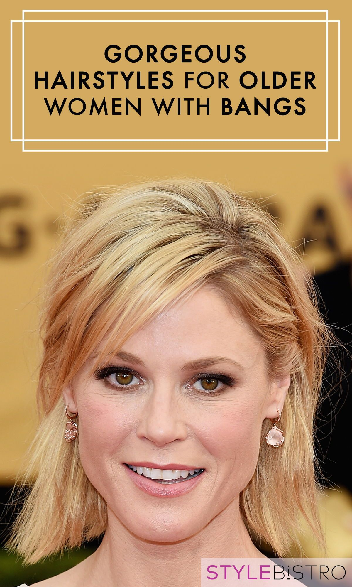 The prettiest hairstyles for older women with bangs hairort