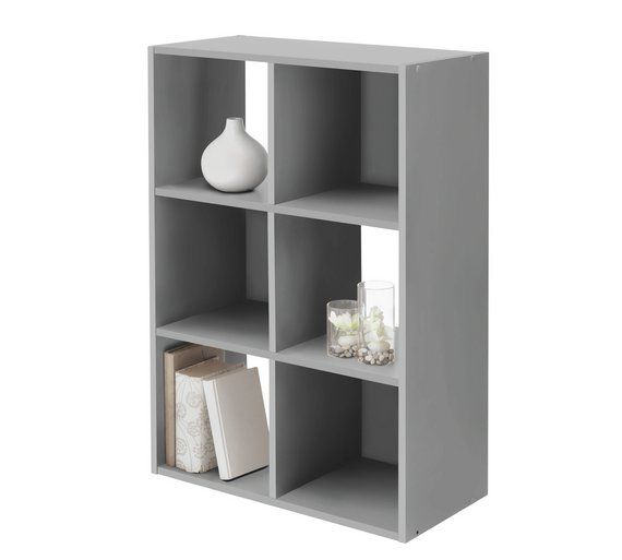 Buy Argos Home Squares 6 Cube Storage Unit Putty Storage Units