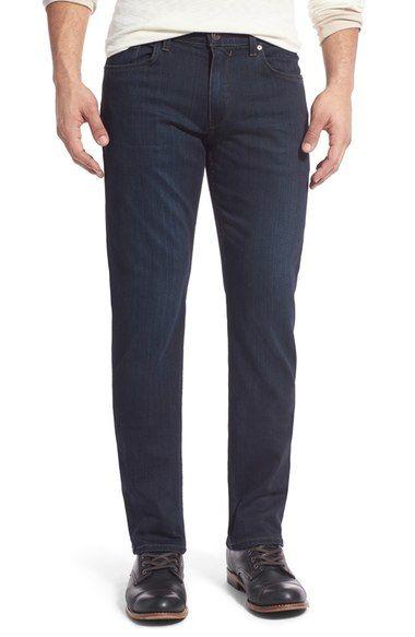 4a62d11bc53 PAIGE  Normandie - Transcend  Straight Leg Jeans (Cellar).  paige  cloth