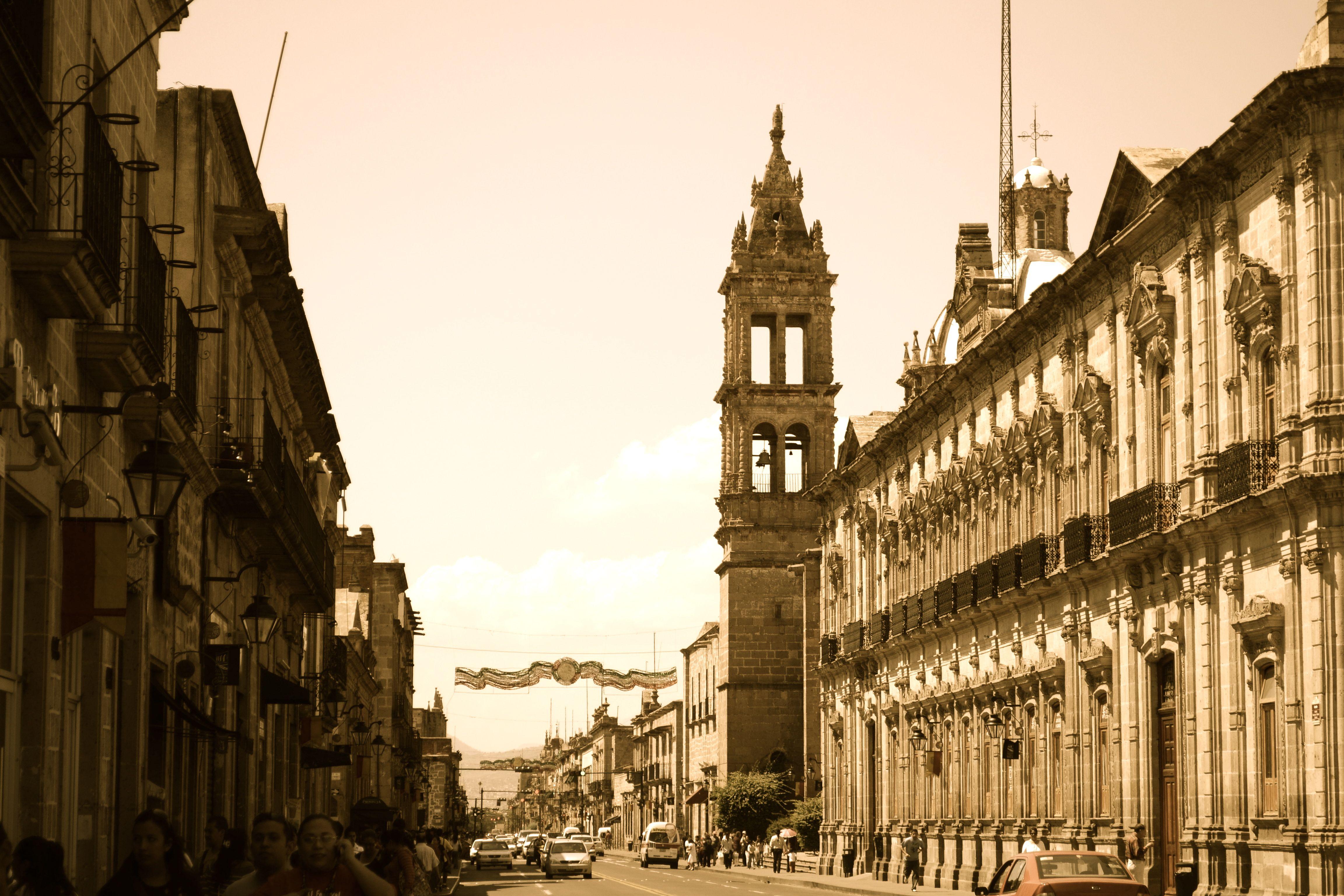 Antigua Calle Real, Morelia, Mexico