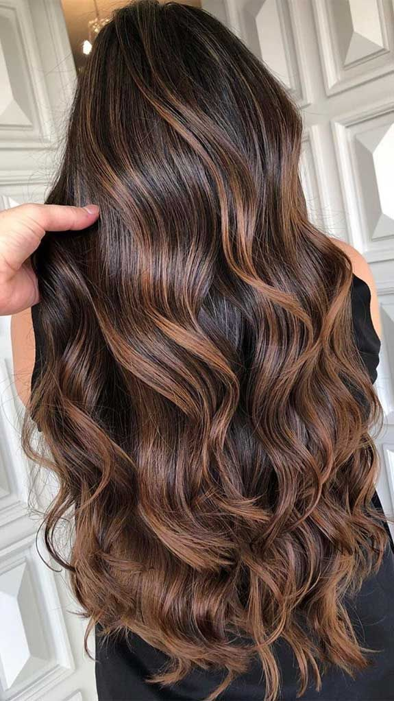 The Best Hair Color Trends And Styles For 2020 In 2020 Dark Brown Hair Balayage Brown Hair Balayage Cool Hair Color
