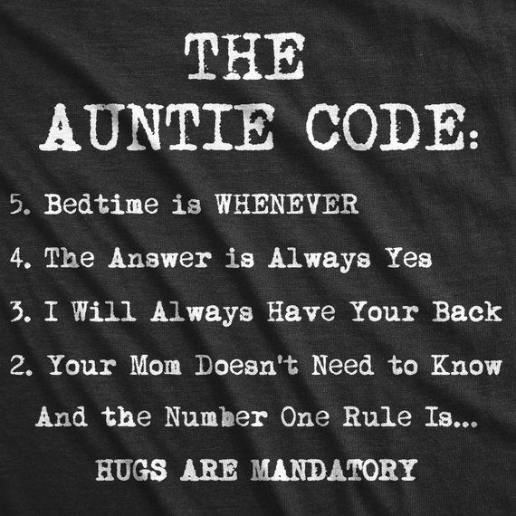 Funny Aunt Shirt, Gift For Aunt, Auntie Tees, Funny Shirt For Women, Aunt Shirt Funny, The Auntie Code Shirt, Cute gifts #auntshirts