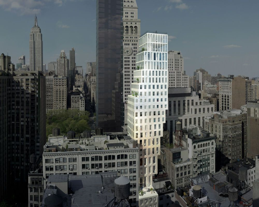 23 east 22nd street (one madison park development), new york