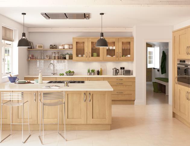 How To Brighten Up An Oak Kitchen Kitchen Design