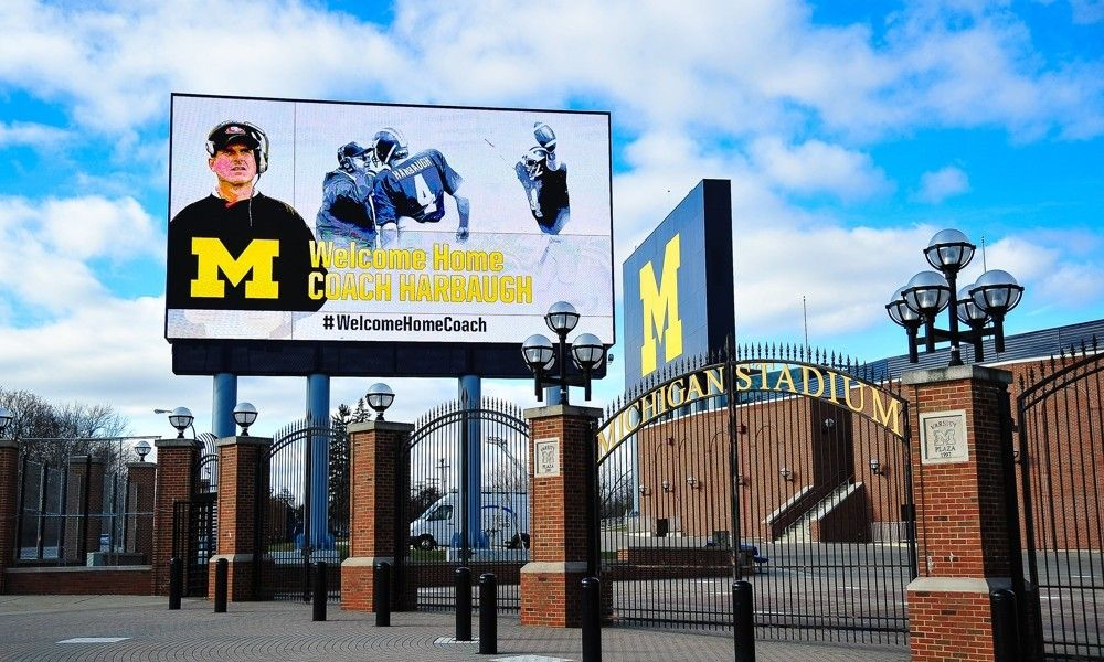 "Realistic Expectations for Michigan's Coaching Staff -Today's U Jim Harbaugh is the head of the Michigan Wolverines' ""Voltron""-esque coaching staff. He oversees everything while making executive decisions and projecting the overall image of the football program....."