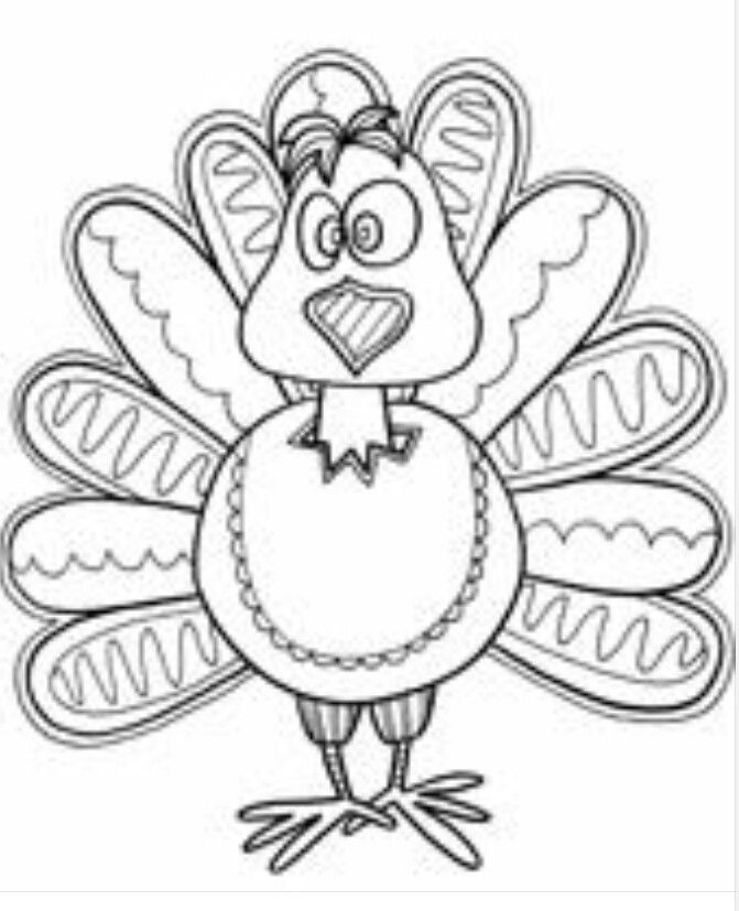 Turkey Thanksgiving Coloring Pages Bird Coloring Pages Farm