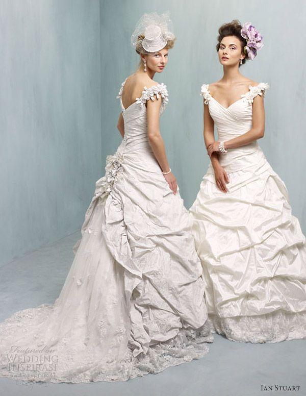 Ian Stuart Wedding Dresses 2013 — Supernova Bridal Collection | Ian ...