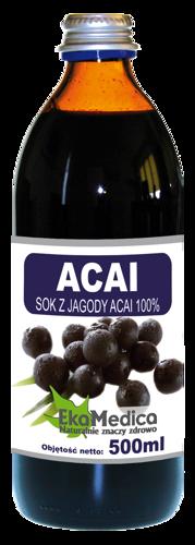 ACAI juice of the acai berry 100% 500ml acai berry juice