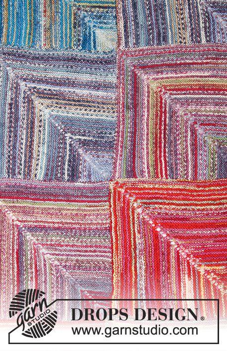 Photo of Sunset Mountains / DROPS 195-37 – Gratis strikkeinstruksjoner fra DROPS Design